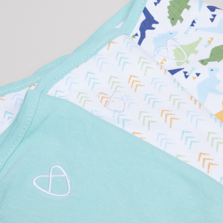 Summer Infant Printed SwaddleMe Wrap - Set of 3