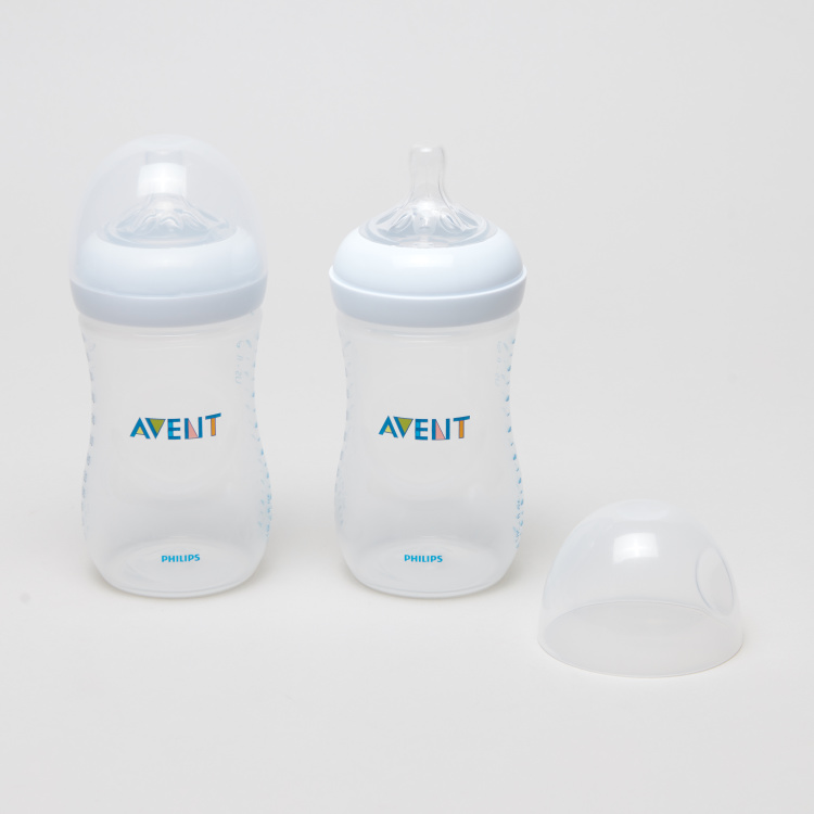 Philips Avent Natural 2-Piece Feeding Bottle Set - 260 ml