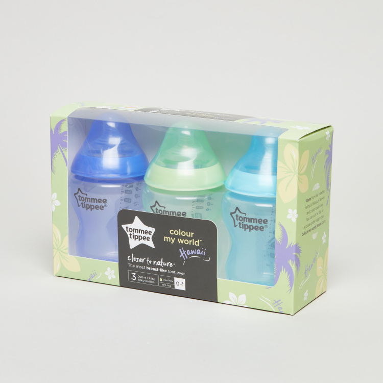 Tommee Tippee Feeding Bottle - Set of 3