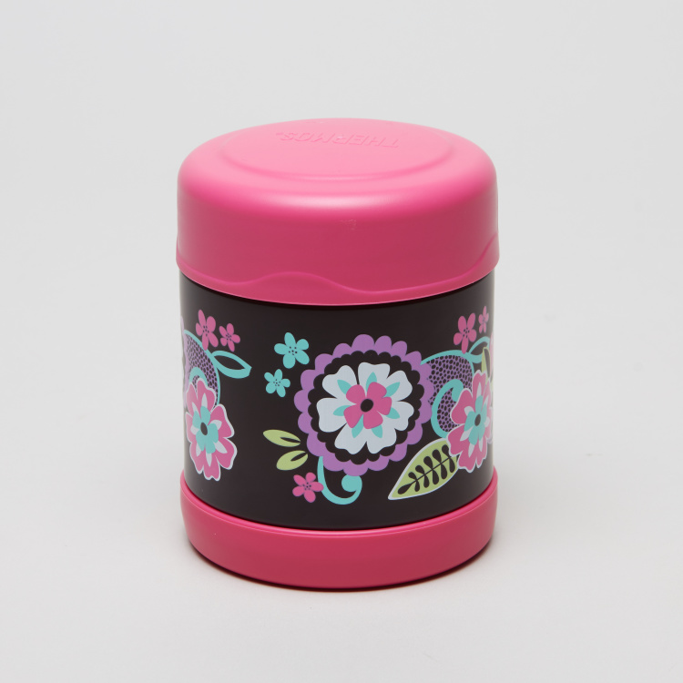 Thermos Funtainer Floral Printed Food Jar - 290 ml