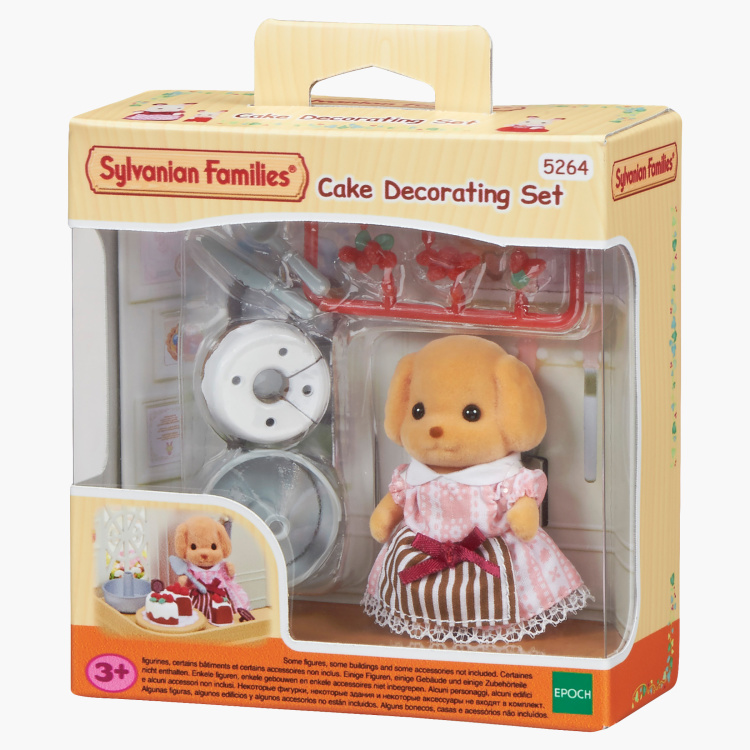 Sylvanian Families Cake Decorating Play Set
