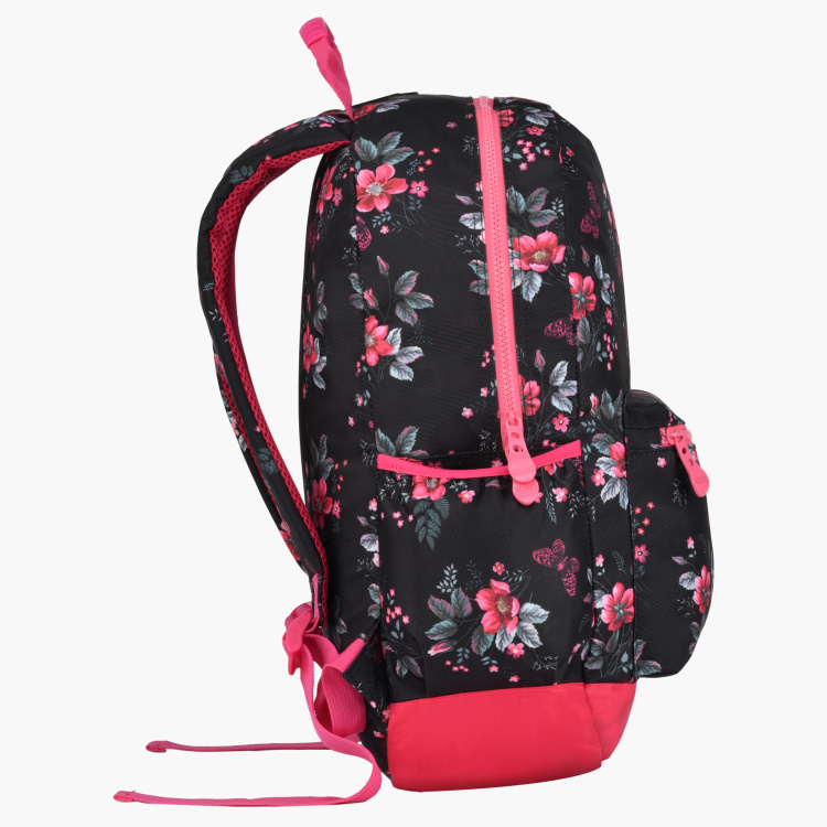Roco Floral Printed Backpack