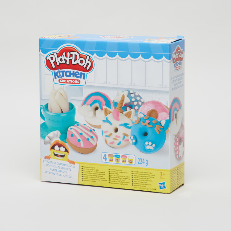 Hasbro Play-Doh Delightful Doughnuts Dough Set