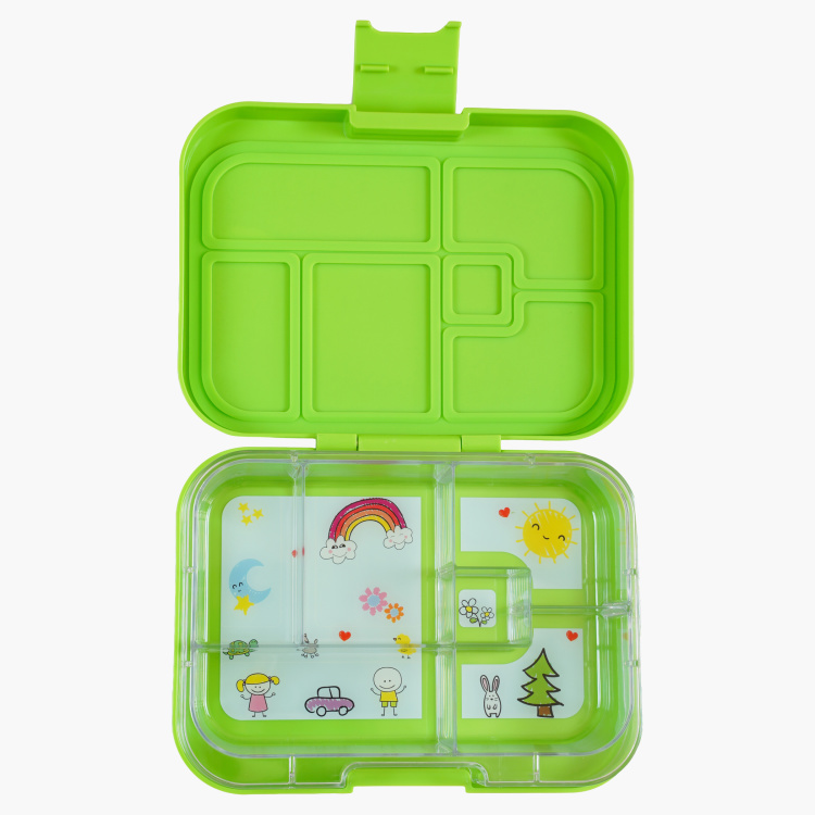 Tiny Wheels 6-Compartment Bento Lunch Box