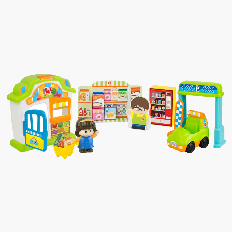 WinFun Family Supermarket Playset
