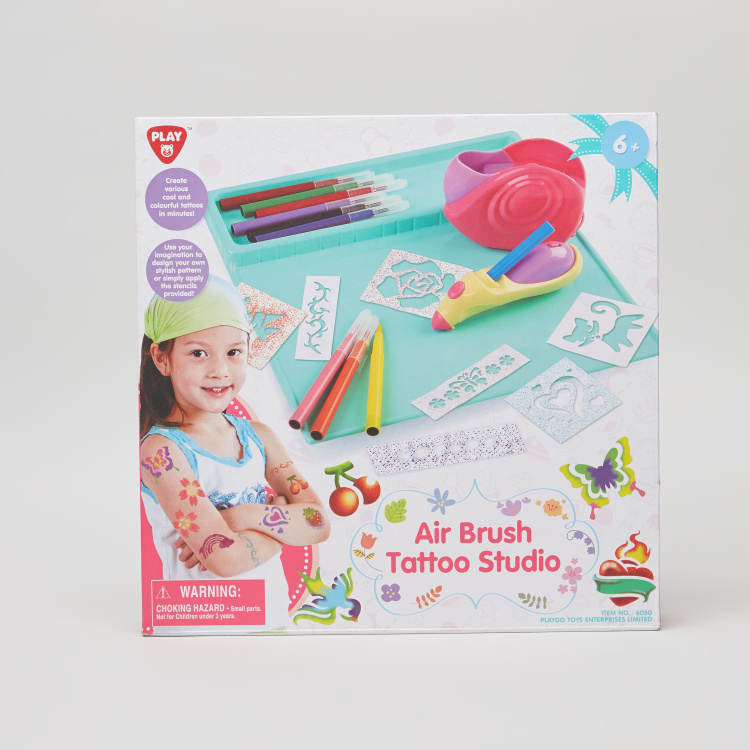 Playgo Air Brush Tattoo Studio Playset