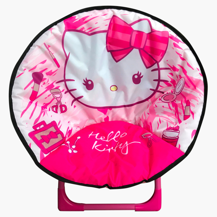 Sanrio Hello Kitty Printed Foldable Moon Chair