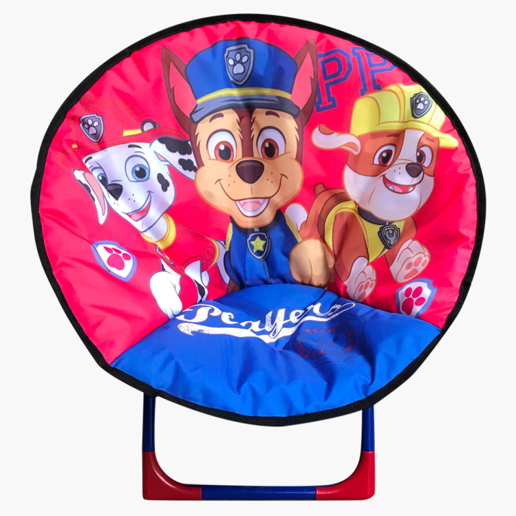 Paw Patrol Printed Foldable Moon Chair