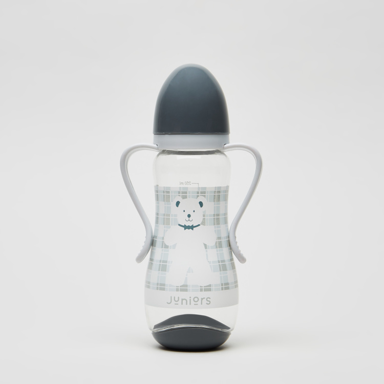 Juniors Printed Feeding Bottle with Cap -250 ml