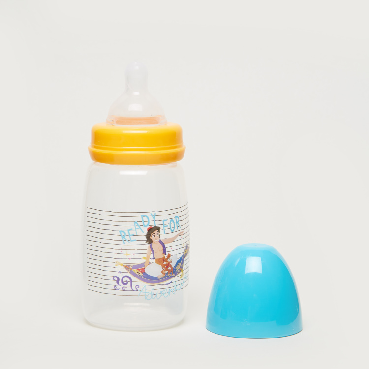 Disney Aladdin Print Feeding Bottle - 300 ml
