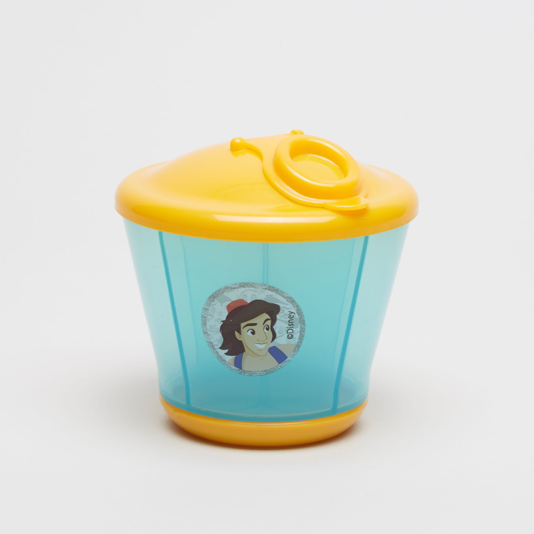 Disney Aladdin Print Milk Powder Container