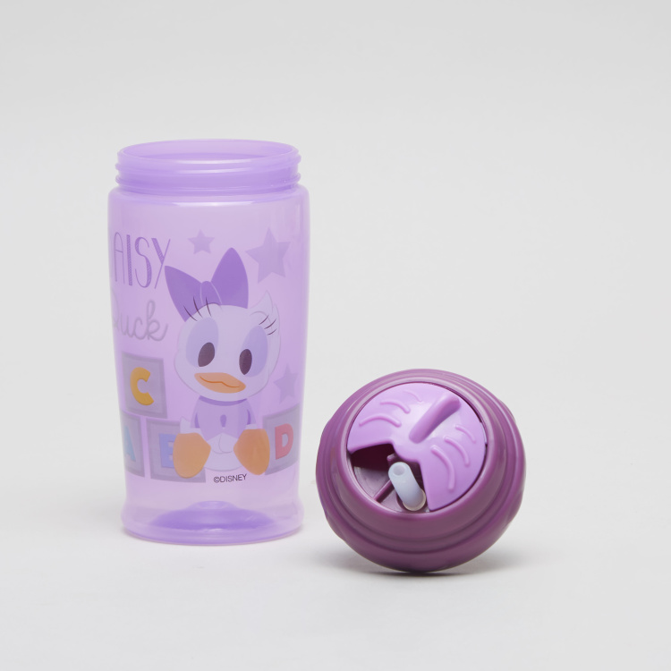 Disney Daisy Duck Print Sipper with Straw