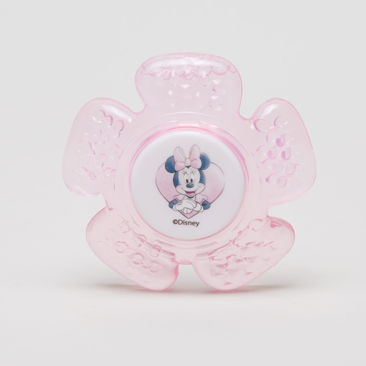 Minnie Mouse Print Water Filled Teether