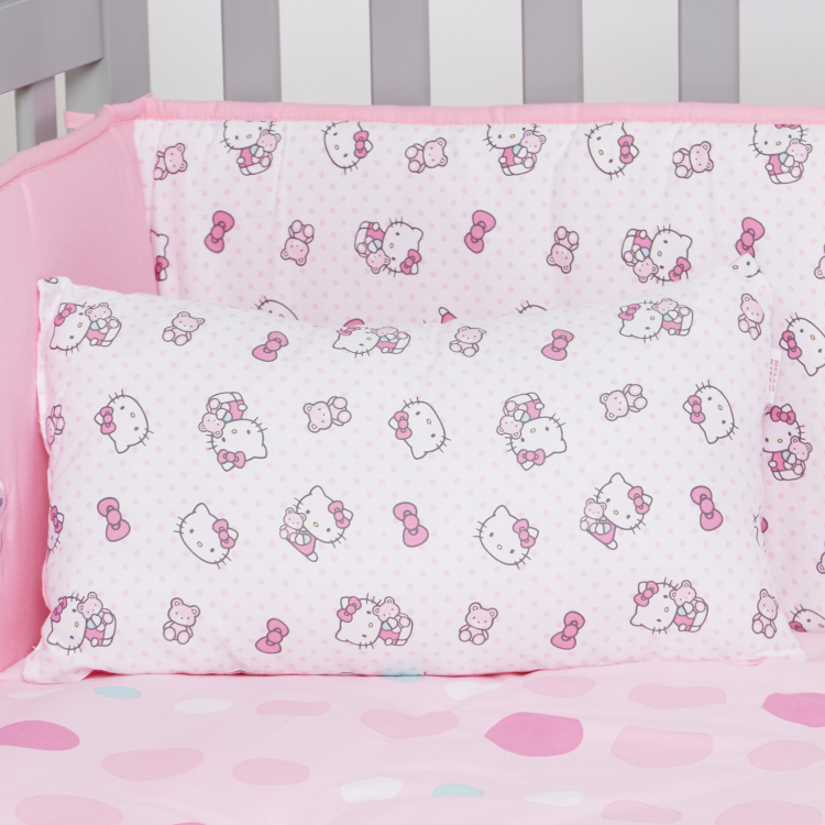 Hello Kitty Print 5-Piece Comforter Set