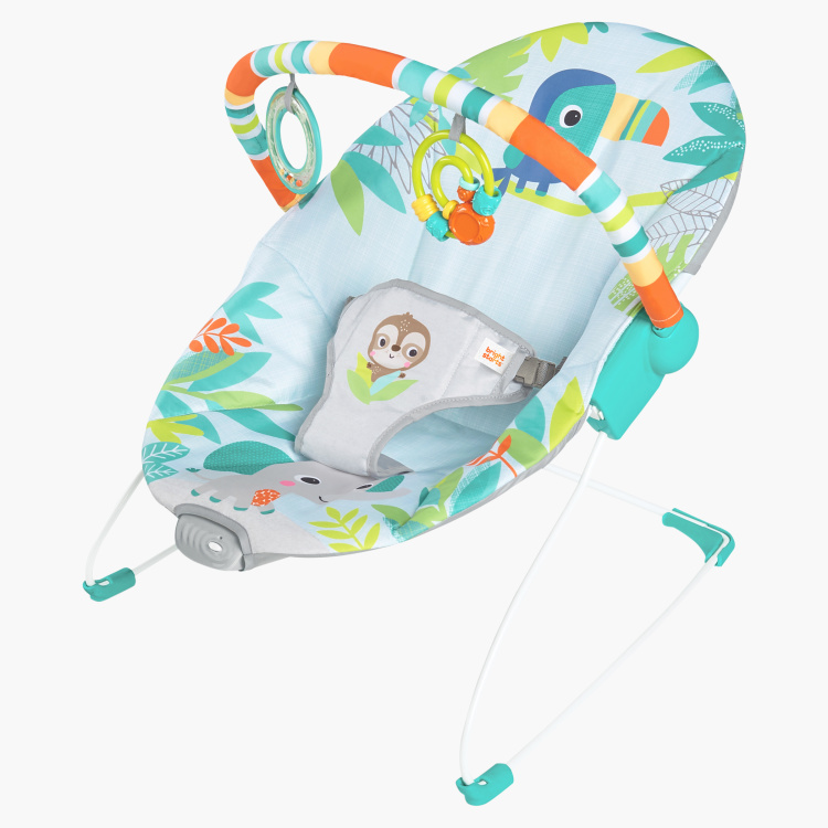 Bright Starts Rainforest Vibes Vibrating Bouncer