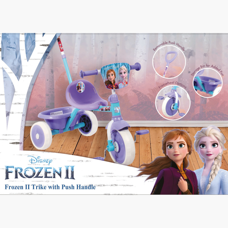 Disney Frozen Trike with Push Handle