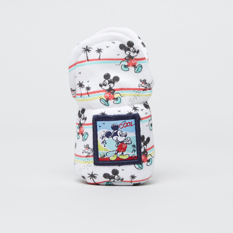 Mickey Mouse Printed Bottle Cover
