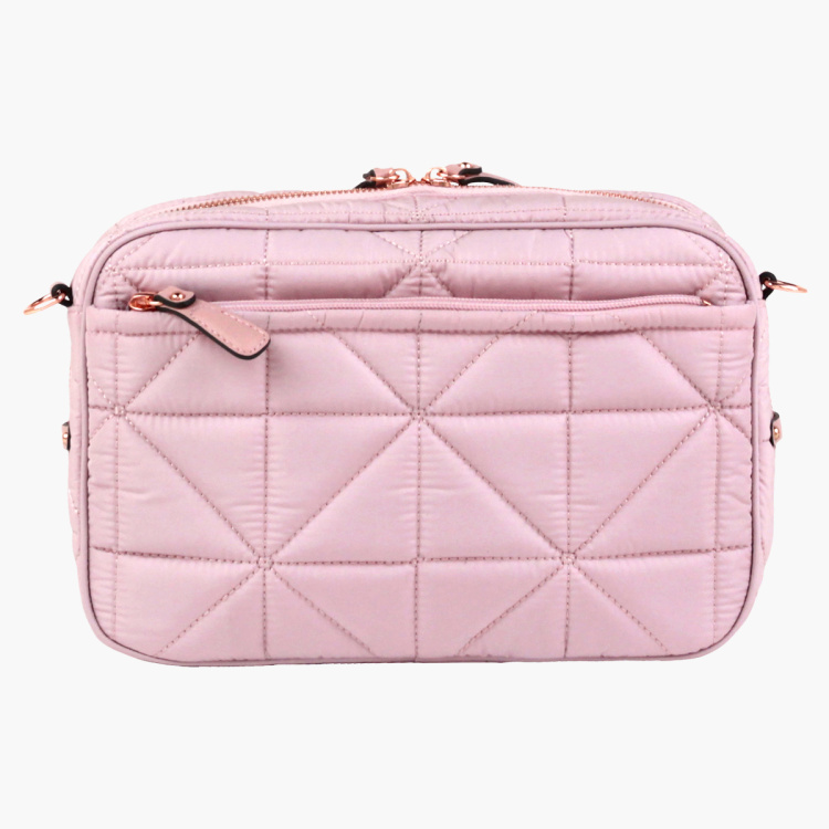 TWELVElittle Quilted Crossbody Clutch Diaper Bag