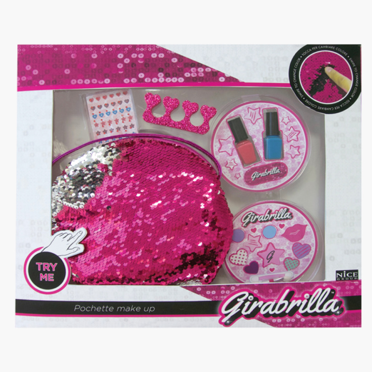 Girabrilla Magic Makeup Bag Playset