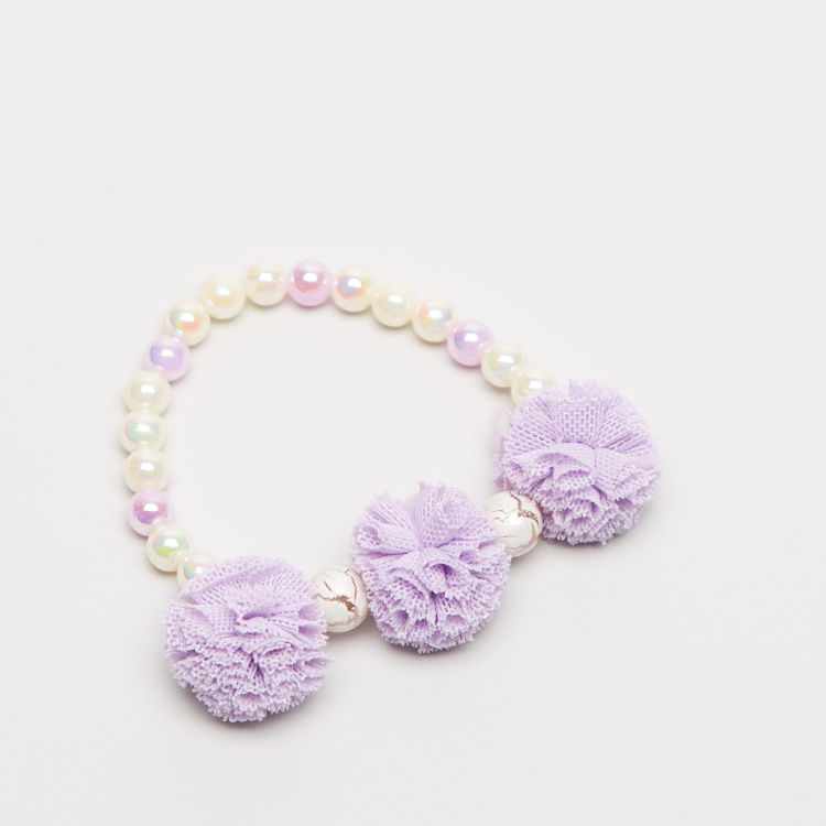Charmz Beaded Bracelet with Applique Detail