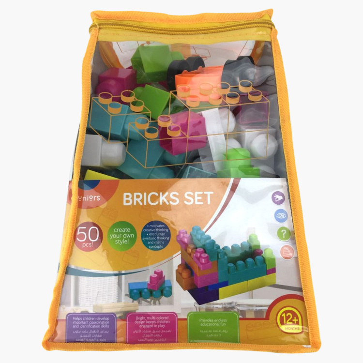 Juniors 50-Piece Bricks Playset