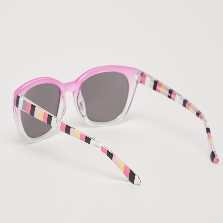 Charmz Full Rim Printed Sunglasses with Nose Pads