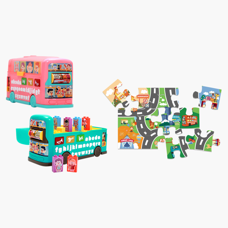 Kidi Bus Puzzle Set