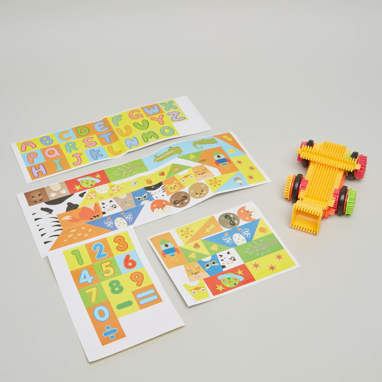 Energy Source 68-Piece Hedgehog Blocks Set