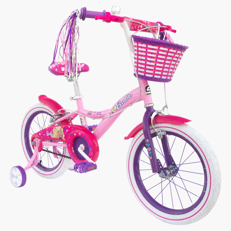 Spartan Barbie Print Premium Bicycle - 16 inches