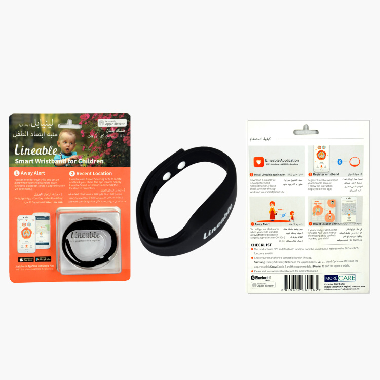 Lineable Smart Wristband For Children