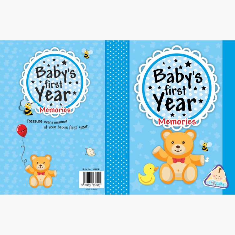 Future Books Baby's First Year Memories Book