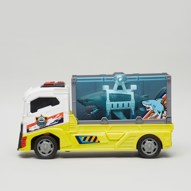 Wild Quest Shark Transport Truck Playset