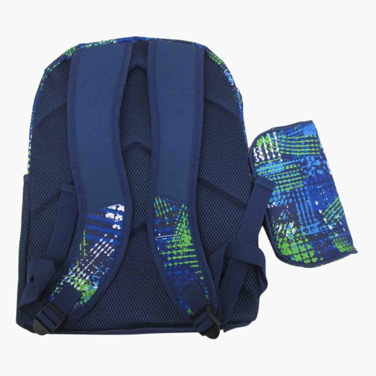 Juniors Printed Backpack and Pencil Case - 16 inches