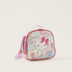 Hello Kitty Print Insulated Lunch Bag