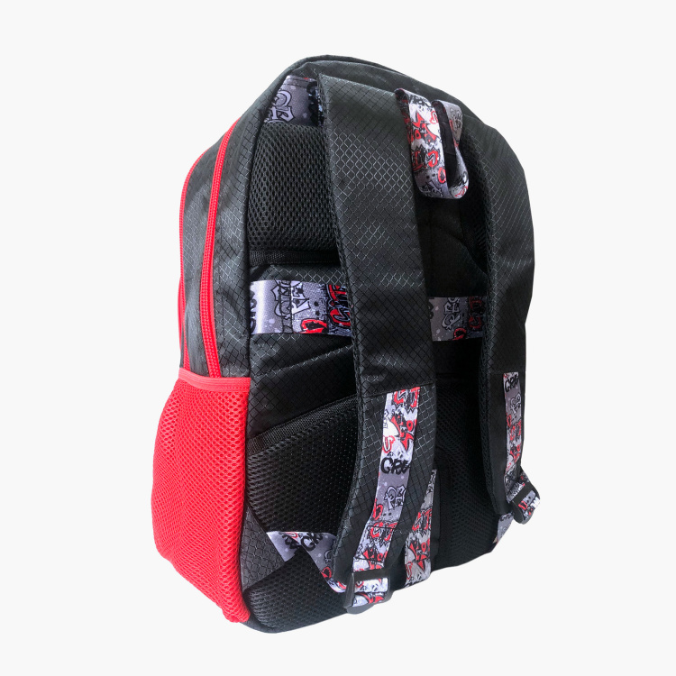 Busquets Printed Backpack with Pencil Case