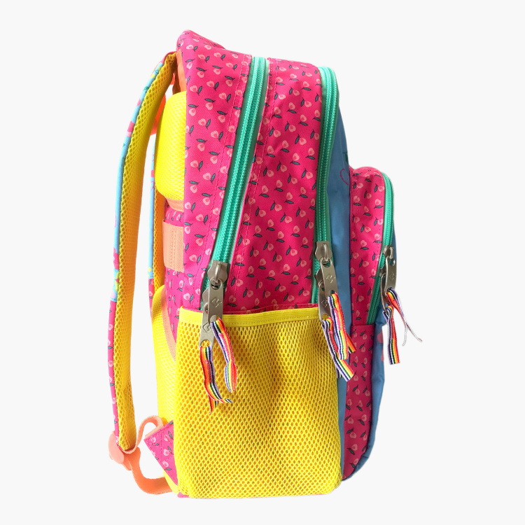 Busquets Graphic Print Backpack with Pencil Case