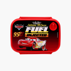 Disney Cars Fuel Injected Lunchbox with Clip On Closure
