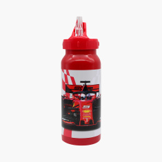 Ferrari Print Water Bottle with Straw