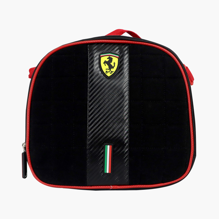 Ferrari Print Lunch Bag with Top Handle