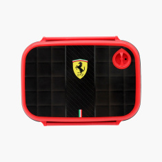 Ferrari Print Lunchbox with Clip Closure