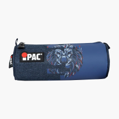 Simba iPac Lion Print Pencil Case with Zip Closure