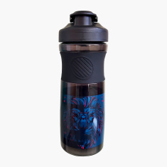 Simba iPac Lion Print Water Bottle with Flip Lid