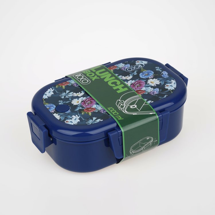 ROCO Floral Print Lunch Box