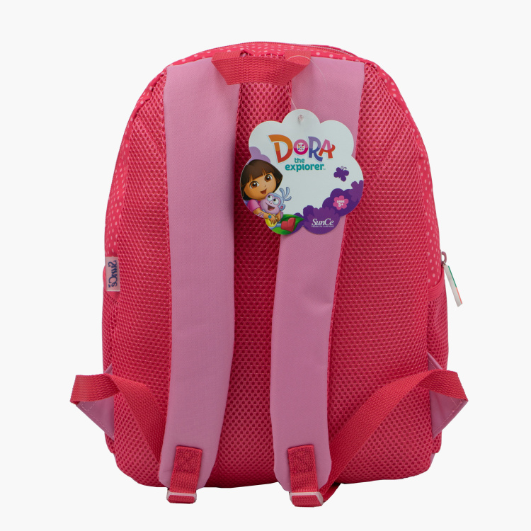 Dora The Explorer Print Backpack - 14 inches