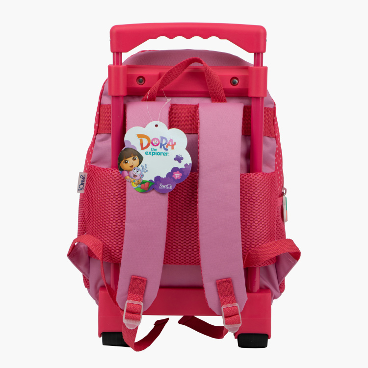 Dora The Explorer Print Trolley Backpack - 14 inches