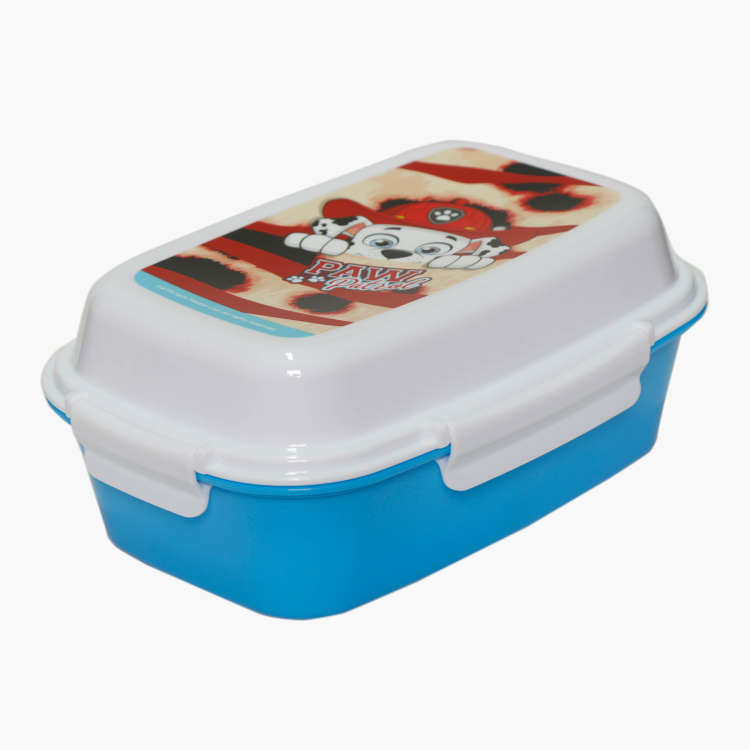 PAW Patrol Print Lunch Box with Clip Closure