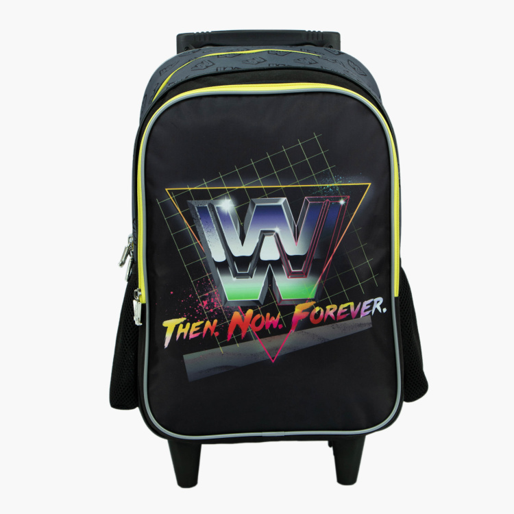 WWE Graphic Print Trolley Bag - 16 inches