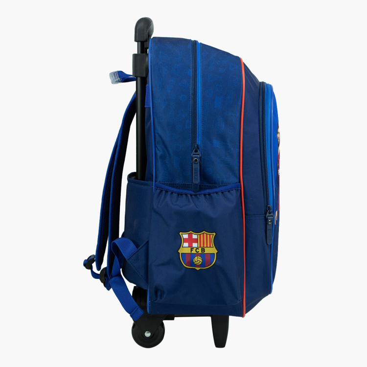 Barcelona Print Trolley Bag - 18 inches