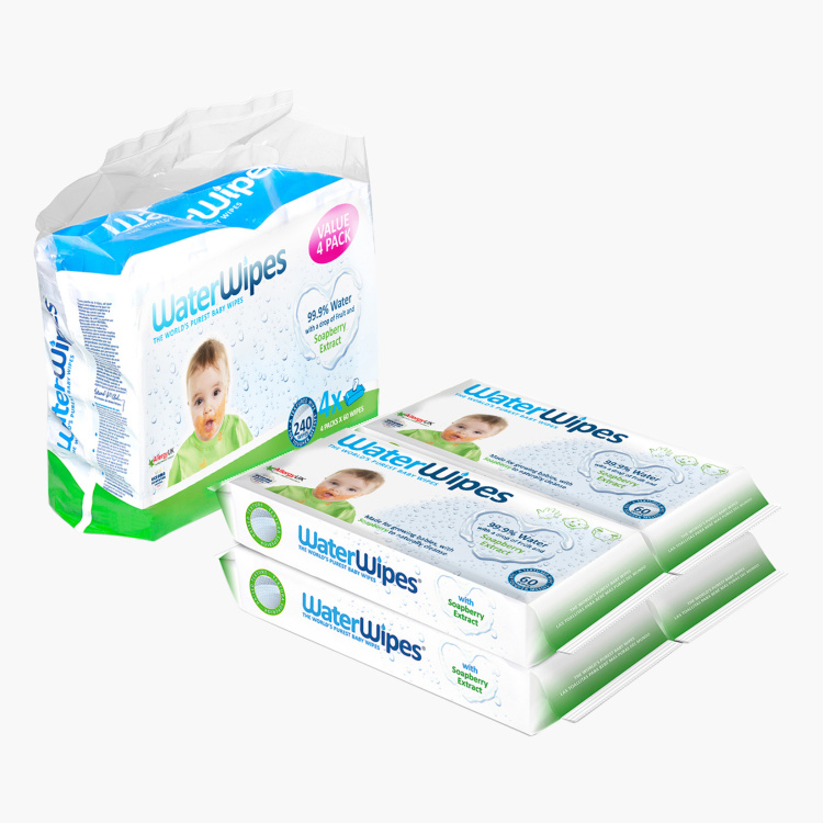 WaterWipes Soapberry Wipes Pack of 240