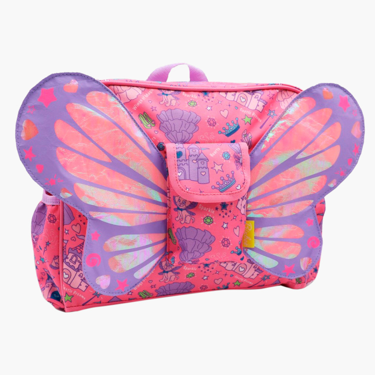 Bixbee Fairy Princess Flyer Backpack - 10 inches
